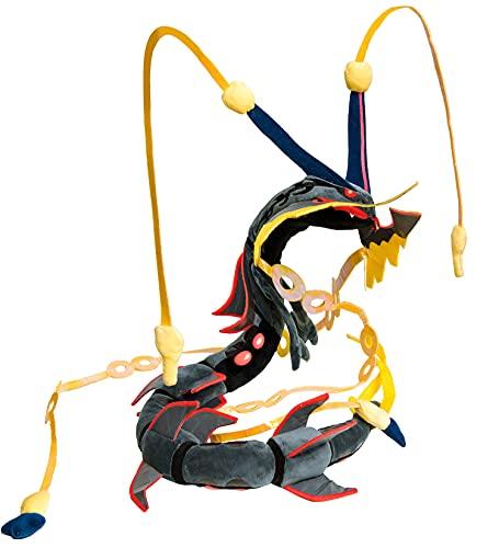 Mega Rayquaza Plushies,31' Mega Rayquaza Plush Toy Black,Rayquaza Plush Stuffed Animal Toy