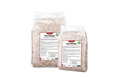 Ruemar Rasendünger für Rasen und Garten. Nährstoffreicher Dünger Granulat zum streuen 25 kg, für alle Rasensorten. EG Pflanzen Düngemittel mit 3 Monate Langzeitwirkung Sommer Frühling