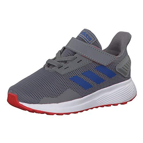 Adidas Duramo 9 I, Zapatillas de Estar por casa Unisex niños, Multicolor (Gritre/Azul/Rojact 000), 19 EU