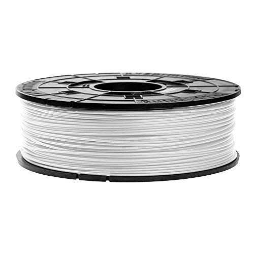 Filament Cartridge with 600 grams of Anti Bacterial Filament - ABS 1.75 mm - White - Specially designed for XYZprinting DA VINCI DA VINCI (Junior Mini Nano Super Color) Printers