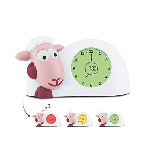Zazu Sam das Schaf Schlaftrainer und Kinderwecker, rosa ZA-SAM-3