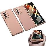 Für Samsung Galaxy Z Fold 2 5G Hülle mit Frontschutz