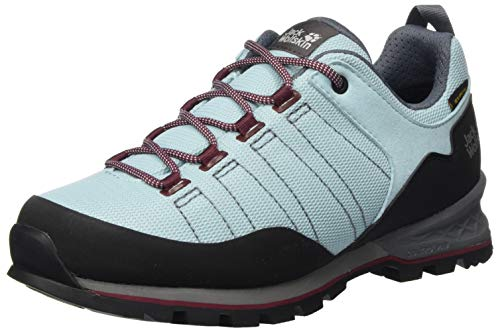 Jack Wolfskin Damen Scrambler LITE Texapore Low W Walking-Schuh, Light Blue/Purple, 40.5 EU