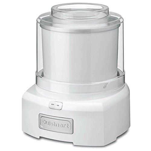 Cuisinart ICE-21C Frozen Yogurt, Ice Cream and Sorbet Maker, White, Medium