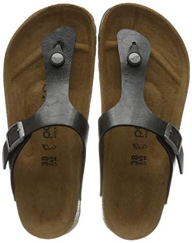 Papillio Damen Tongs Gizeh Birko-Flor Graceful Licorice Sandale, 41 EU