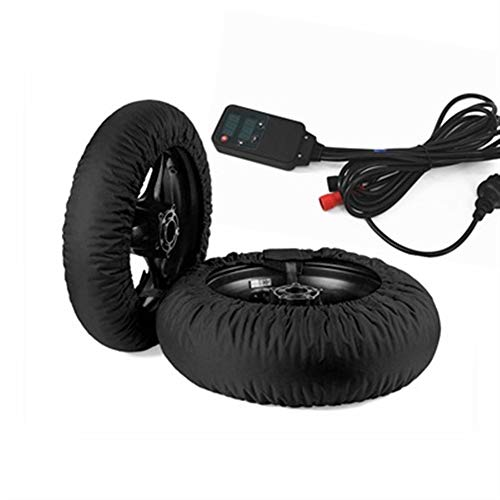 Accesorios para automóviles Motociclismo neumáticos más caliente del calentador del calentador de neumáticos cubierta en forma for 120/200 17 delantero y trasero Moto Accessoresies 2018 2019 Accesorio