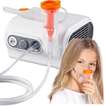 Desktop Nebulizer Machine, Portable Nebulizer Compressor with Exquisite Design, Pro Compact Nebulizer Cool Mist System for Kids Adults Home Use Travel Friendly for Breathing Problems