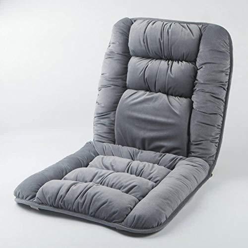 YAYY Cojín de algodón para Tumbona para Patio, Respaldo Alto, Grueso, Interior, Exterior, para sillón, cojín para sofá de jardín, Silla, cojín para Patio, Gris 110x50x5cm-gris_El 110x50x5cm Upgrade