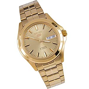 Seiko Mens Automatic Watch, Analogue Classic Display and Stainless Steel Strap SNKK98 / (SNKK98K1)