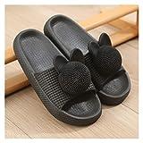 Pantuflas Sandalias de verano y zapatillas Suela gruesa Soled Soled Soled Para Mujeres Casas de baño...