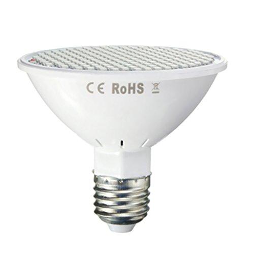 B Blesiya 30W E27200smd/2835LED lámpara de llenado lámpara de Crecimiento de Plantas para Plantas Interiores Flor