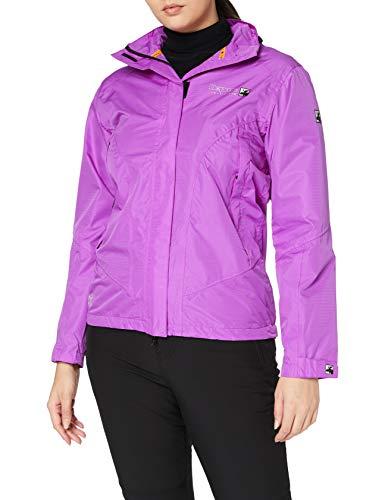 DEPROC-Active Damen Outdoor Jacke und Regenjacke DEPROC CHARNY bis Gr 54, Purple, 40