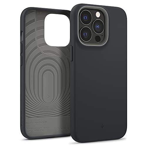 Caseology Funda Nano Pop Compatible con iPhone 13 Pro MAX - Black Sesame