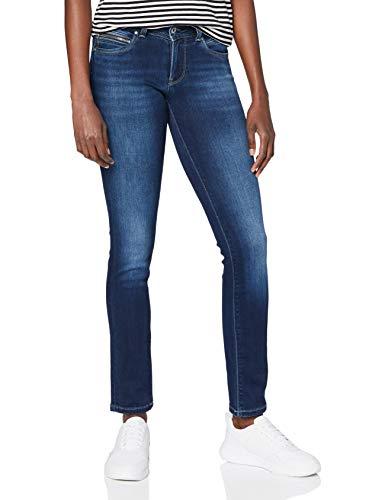 Pepe Jeans New Brooke W Jeans Vaqueros, Azul (Denim D70), 34W / 34L para Mujer