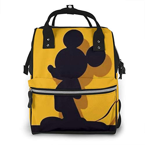 Diaper Bag- Creative Mickey Mouse Mommy Bag, Multi-Function Large Capacity Travel Backpack Nappy Bag