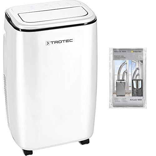TROTEC Lokales Klimagerät PAC 3500 S mobile 3,5 kW Klimaanlage 3-in-1-Klimagerät inkl. AirLock 1000