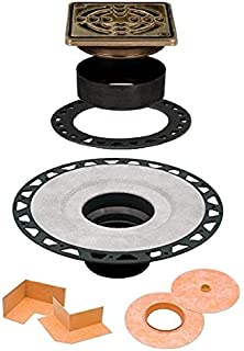 Schluter Kerdi Drain Oil Rubbed Bronze ABS Version