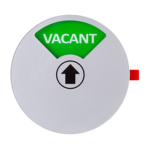 Kichwit Privacy Sign for Offices or Homes - Do Not Disturb Sign, Restroom Sign, Office Sign, Conference Sign, Vacant Sign, Occupied Sign - Tells Whether Rooms are Vacant or Occupied, 5 Inch, Silver Photo #3