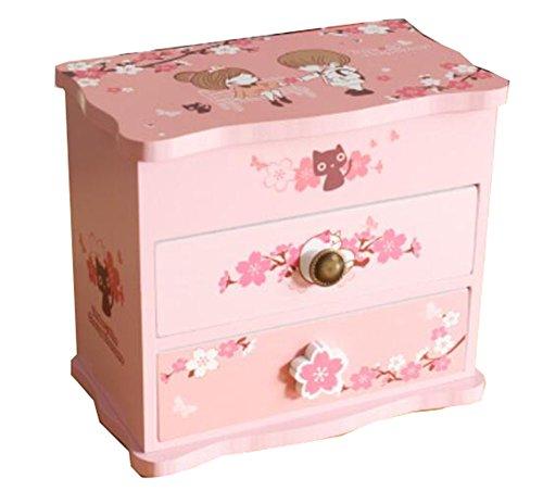 Bijoux Country Style Box Ornements Boîtes de rangement -06