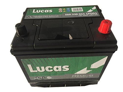 Lucas autoaccu Premium LP005 D23 12V 60AH 540 AMPS EN