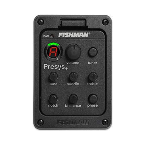 Fishman 201 Presys Blend Preamp Acoustic Guitar Equalizer Tuner Pickup
