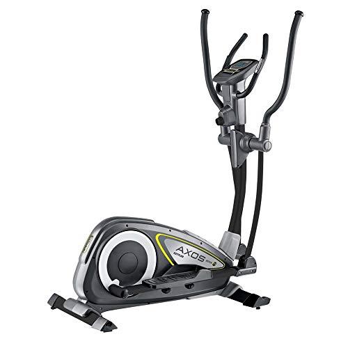 Kettler Crosstrainer Nova M, 12 kg Schwungmasse, 8 Widerstandsstufen, 110 kg Max. Gewichtsbelastung, LCD-Trainingscomputer