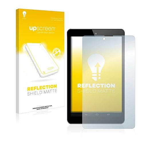 upscreen Entspiegelungs-Schutzfolie kompatibel mit Odys Connect 7 Pro – Anti-Reflex Bildschirmschutz-Folie Matt