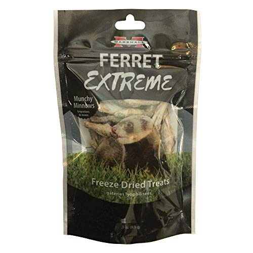 Marshall Pet Products Ferret Extreme Freeze Dried Munchy Minnows