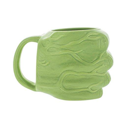 Paladone Hulk 3D Becher, Keramik, Mehrfarbig, 9.6x16.3x11.6 cm