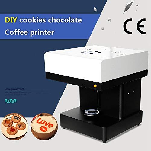 Impresora Inteligente Café PrinterArt Bebida Galleta Crema Galletas Comida 3D Selfie Café Latte Máquina De Impresión USB(Size:220V)