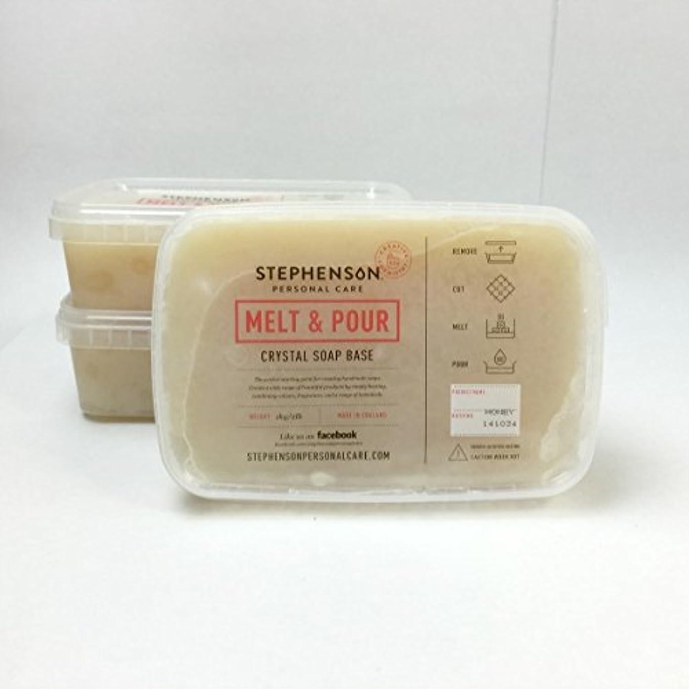Stephenson Step-Honey Soap Base, Light Orange Color