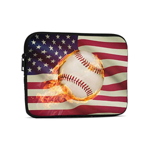 Accesorios para iPad Adulto Juvenil Competiton Advanced Baseball Funda Impermeable para iPad Compatible con iPad 7.9/9.7 Pulgadas Bolsa Protectora de Neopreno con Cremallera a Prueba de g