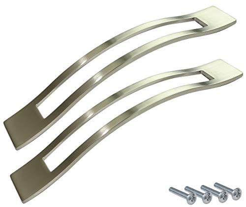 Aerzetix C41759 greep voor lade, kast, kast, kast, kast, roestvrij staal, 160 mm