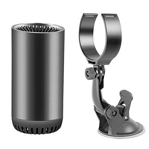Pumprout Calentador de Coche, Calentador eléctrico, Ventilador de calefacción, purificación de Aire, secador eléctrico portátil, desempañador de Parabrisas, desempañador