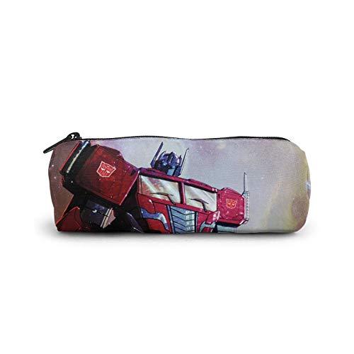 Skids Transformers 5 The Last Knight Frenzy Sci-Fi Action Filme Bleistifttasche Organizer Schreibwaren Tasche Hohe Kapazität für Männer Frauen Erwachsene Make-up 3D Druck