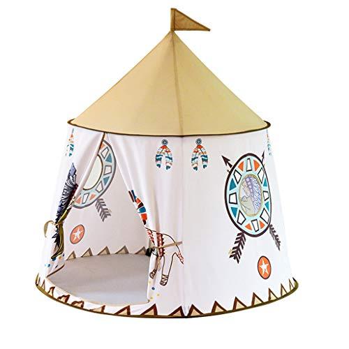 Homyl Enfants Tente Jouet Tente de Cirque Playhouse Enfants Intérieur Extérieur Pop Up Jouer avec Sac de Transport