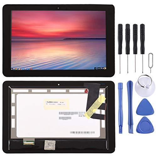 BEIJING LCDSCREEN/Pantalla LCD y Montaje Completo digitalizador, para ASUS Chromebook Flip C100PA 10 Pulgadas (Color : Negro)