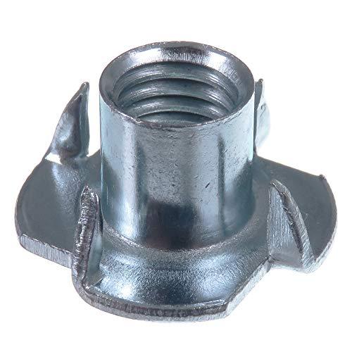 SECCARO Einschlagmutter M10, 13 mm Länge, Stahl verzinkt, 20 Stück