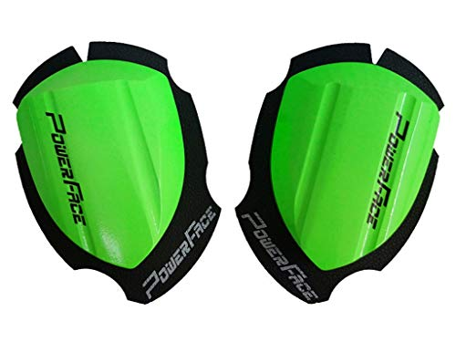 Power Face Holzknieschleifer - Race Neongrün