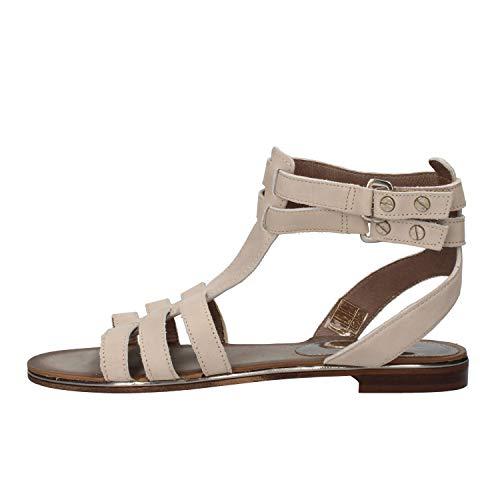 CARMENS Modieuze sandalen Dames Suede Leder Grijs