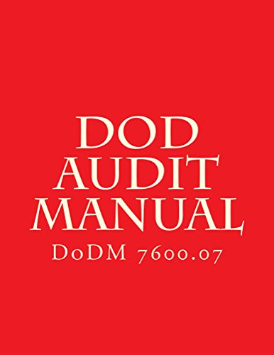 DoD Audit Manual: DoDM 7600.07 (English Edition)