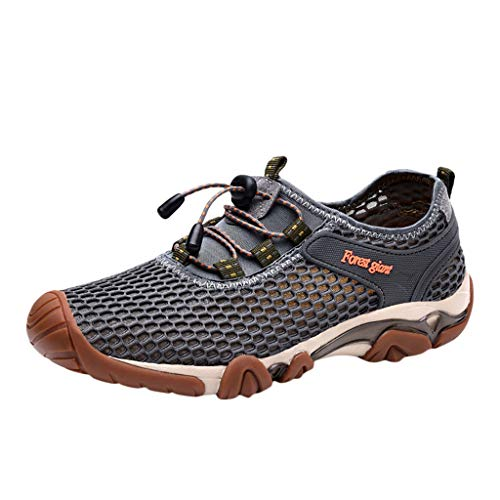 LuckyGirls • • Zapato de Agua para Buceo Piscina Snorkel Surf Hombre Playa Calzado Natación Deportes Senderismo Zapatillas Aire Libre Running con Cordones Secado Rápido Escarpines
