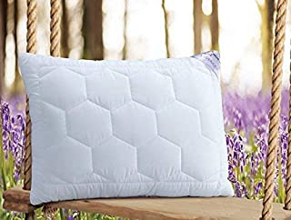Spread Spain Lavender with Suede Fabric and Micro Fibre Inside Pillow, Pillows for Sleeping, Super Soft & Comfortable Anti...
