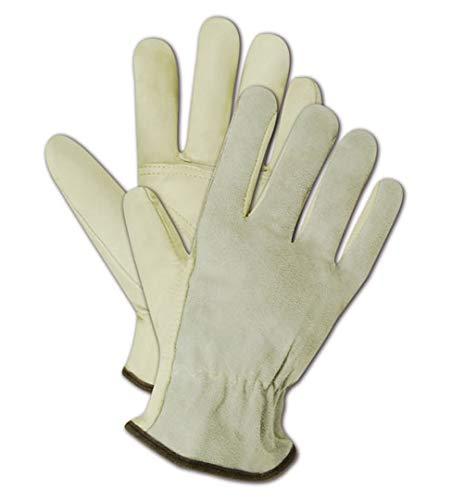 Magid Safety Roadmaster B6544E Glove Leather Grain Dri cheap Unlined Super intense SALE