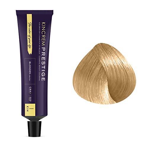 Coloration permanente enrichie à la kératine 11.12 - Blond Pâle Cendré Nacré Kin Cosmetics