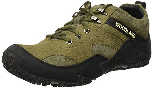 Woodland Men's GC 2656117 Olive Green Sneaker-11 UK (45 EU) (12 US) (Leather)