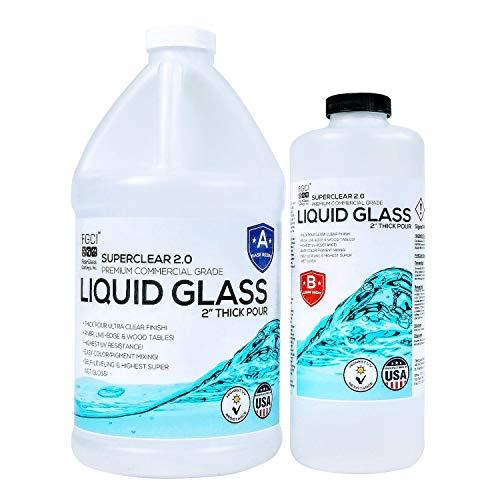 FGCI Superclear Liquid Glass Deep Pour Epoxy