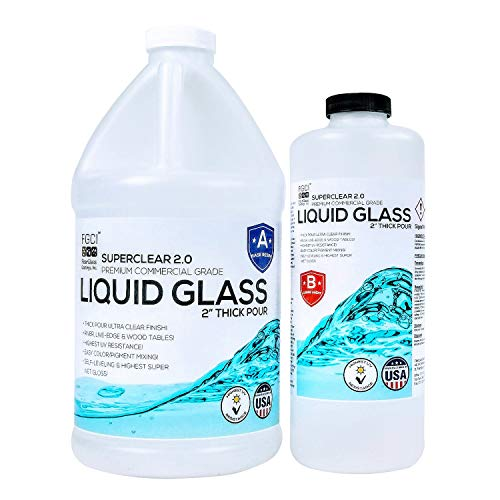 FGCI Superclear Liquid Glass Deep Pour Epoxy