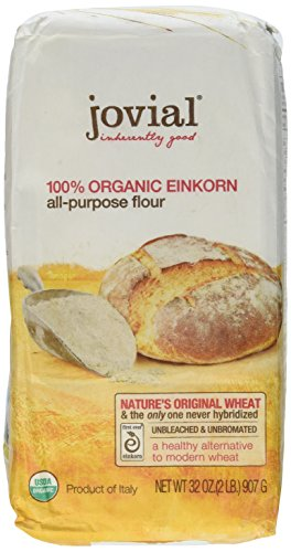 Jovial Foods Organic Einkorn Flour, 32.0-Ounce Pack of 4
