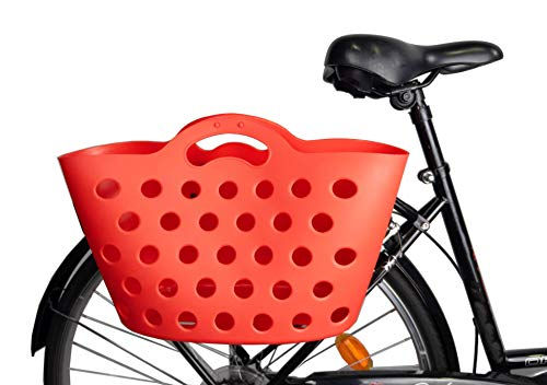 HAPO-G Trendy One - Cesta para Bicicleta con fijación para